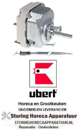 VE2.55.34035.080 - Thermostaat t instelbereik 95-180°C 3-polig UBERT