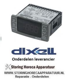 564402144 - Thermostaat elektronische regelaar DIXELL XR60CX -5N0C1 inbouwmaat 71x29mm 230V spanning AC NTC/PTC DIXELL