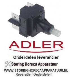 72020660 - Schakelelement 2NO 250V 16A vaatwasser  ADLER PM50