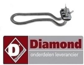 923230124 - Verwarmingselement voor vaatwasser DIAMOND DC402