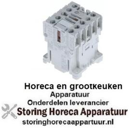 133380238 - Magneetschakelaar relais AC1 20A 230VAC (AC3/400V) 8,4A/4kW hoofdcontact 3NO hulpcontact 1NO