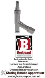 121100082 - Waakvlambrander voor friteuse 1, 2, 3 pots BERTRAND