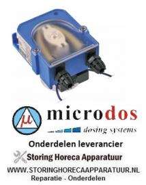 4453.616.85 - Doseerapparaat MICRODOS zonder sturing 3l/h 230 VAC wasmiddel slang ø 4x6mm slang Santoprene