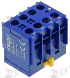 381213 - Hulpcontact contact 2NO-2NC voor magneetschakelaar CKDC1