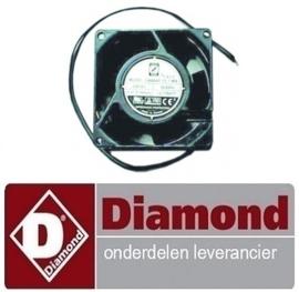 3667200000305 - VENTILATOR OP ZWARTE KADER DIAMOND