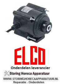 576.6018.87 - Ventilatormotor 25W 230V 50/60Hz  1400U/min ELCO