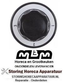 461111455 - Knop 4-standen voor MBM