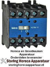 VE38051.213 - Magneetschakelaar ISKRA AC1 20A 230VAC (AC3/400V) 8,5A/5,5kW hoofdcontact 3NO hulpcontact 1NO