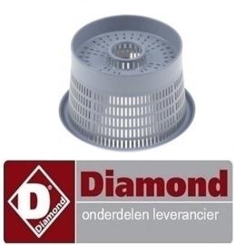518121144 - ROND FILTER VOOR GLAZENWASSER DIAMOND DC202-NP, DC202/6, DC202/6R