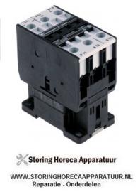 039381085 - Relais AC1 50A 230VAC (AC3/400V) 24A/11kW hoofdcontact 3NO aansluiting schroefaansluiting