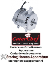 968500973 - Motor 230V - 180 Watt  voor snijmachine CATERCHEF 688330