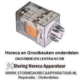 148380132  - Vermogensrelais Italiana Relè 230VAC 10A 3CO aansluiting steekaansluiting rond 11-polig