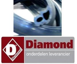 2830839.11240.0 - Deurrubber per meter voor oven DIAMOND CGE611-NP
