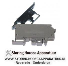1745009195 - Zekeringhouder WIELAND type WK4/THSI 5 U/V0 passende zekering ø5x30mm 0,5-6mm² rail 35mm 10A