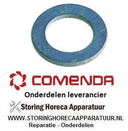 089521110 - Vlakpakking fiber verwarmingselement voor vaatwasser COMENDA LF321, LF321A, LF322, LF322A, LF325E, LF325E/A, LF700, LF700A