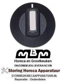 151110253 - Knop schakelaar nul streep MBM