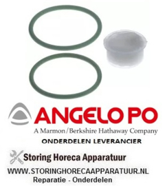 389510219 - O-ring set plus vet  2 stuk friteuse ANGELO-PO