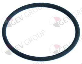 550496 -  O-ring Viton materiaaldikte 3,53mm ID ø 50,39mm vpe 1stuk
