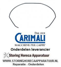 0661400767 - Zeefhouder veer voor espresso-zeefdrager CARIMALI