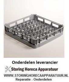248DPP-18 - Korf voor 18 borden Ø 240 mm - polypropyleen