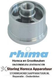 557517110 - Wasarmlager inbouwpositie onder draad M10 ø 39mm H 36mm RHIMA