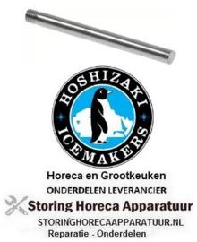 196696864 - Stift L 70mm ø 6mm draad M6 voor ijsmaker HOSHIZAKI