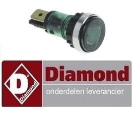337663.043.00 - Signaallamp groen friteuse DIAMOND E65 - F20-7T