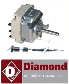 622.661.041.00 -THERMOSTAAT DRIEFASIG 95-195°C DIAMOND