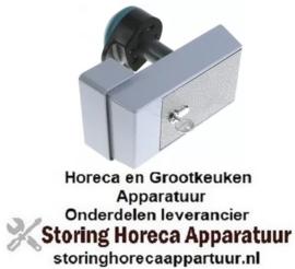 258700784 - Koelcelsluiting deurdikte 30-120mm afsluitbaar type 621 L 213mm B 104mm H 50mm H1 116,6mm