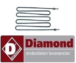 E65/CP7T(230V/3) - DIAMOND ALPHA 650 PASTAKOKER REPARATIE ONDERDELEN