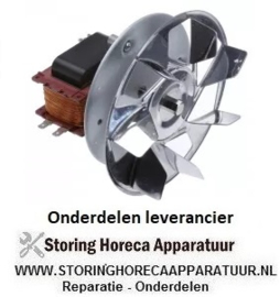 1026.011.75 - OVEN Heteluchtoven ventilator 230V - 47 Watt