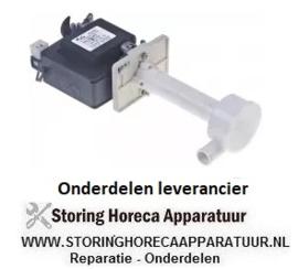 104500754 - Pomp ijsblokjesmachine REBO type MH50F, 50W, 230V, 50Hz uitgang ø 18mm L 135mm voor ijsmaker