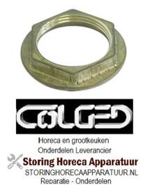 "689516073 - Moer draad 1½"" ø 66mm H 10,5mm SB 52 koper COGED"