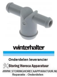 331523076 - T-stuk aansluiting mm L 75 mm vaatwasser Winterhalter