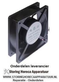 115.6011.61 - Ventilatormotor axial 6,7W - 120 x 120 x 38 mm