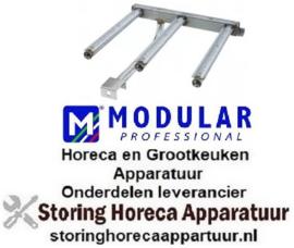 210105165 - Staafbrander 3 rijen kantelbare braadpan MODULAR