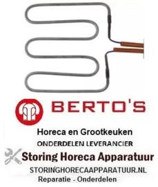 474416011 - Verwarmingselement 1000 Watt - 230 Volt  voor Grill BERTOS