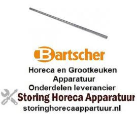604692128 - Stanggreep pijp ø 19mm L 690mm RVS voor Bartscher