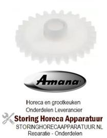 323701343 - Tandwiel ondersteuning voor magnetron timerbesturing  AMANA ALD510D-P1331003M