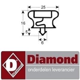 47841801036 - RUBBER VOOR LADE VAN N77/R3C16-B+N65/**PM DIAMOND