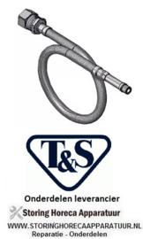 324594206 - Flexibeleslang met terugslagventiel T&S