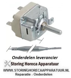212.3752.64 - Thermostaat t.max. 190°C instelbereik 80-190°C 1-polig 1NO 16A