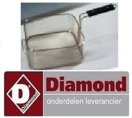 38009CST8LNIQ - Mand voor elektrische friteuse DIAMOND EF81-KN