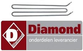 92666500200 - Verwarmingselement 1800W 240V  voor bakplaat DIAMOND