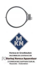 837418749 - Hetelucht Verwarmingselement 9900W 400V voor MKN