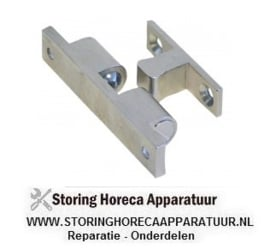 104690106 - Snapslot bevestigingsafstand 39 mm compleet met deursluiting
