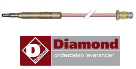 237.256.074.00 - Thermokoppel gas voor friteuse DIAMOND G65/F16-7T