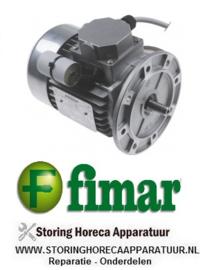 890SL0940 - Motor 1000 / 1400 watt  2 snelheden W 400V 50Hz deegmenger  FIMAR 25 S