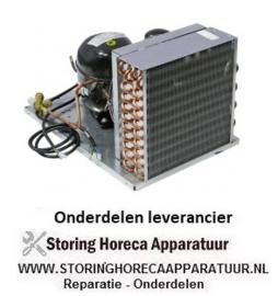 420605191 - Koelaggregaat HBP type UCHZ 50 A koelmiddel R134a NEK6214Z 1/2HP cilinderinhoud 16,8cm³ 220-240V 1