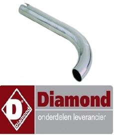 516.631.000.00 - Afvoerpijp pastakoker DIAMOND E60/CP6T - 230/3